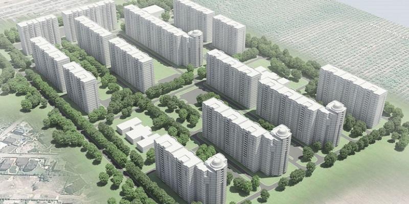 Мэрия утвердила строительство 14 многоэтажек наМосковском проспекте вВоронеже