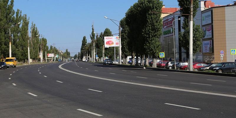 Масштабный ремонт дорог вВоронеже завершили на96%