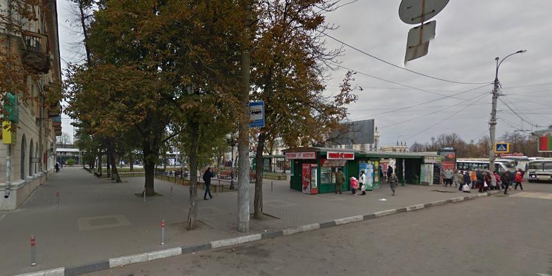 Воронежские власти истратят наблагоустройство сквера увокзала 779 тыс. руб.
