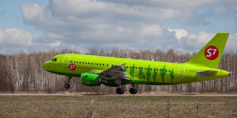 Авиакомпания S7 Airlines удвоит количество рейсов, связывающих Воронеж и столицу России