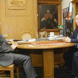Безналичный прогресс: Председатель ЦЧБ Сбербанка Владимир Салмин обсудил проекты сотрудничества с главой Белгородской области