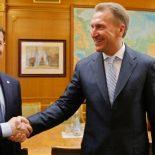О наболевшем: Воронежский губернатор обсудил с Игорем Шуваловым Японию