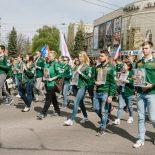 За трудовые подвиги: Воронежцы устроили акцию памяти на первомайской демонстрации